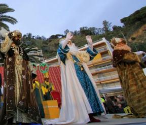 Fiestas en Blanes Cabalgata de Reyes