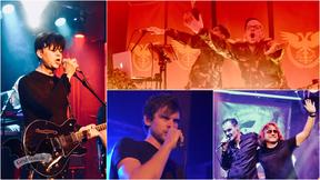 Drei Abende, vier Band: Clan of Xymox, Nachtmahr, Cyto und Torul [v. l. im Uhrzeigersinn] live in der Subkultur Hannover / Fotos: Dunkelklaus