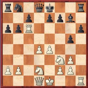 Roth - Mauelshagen: Es folgte 16. Dc2 Sxc6 17. Dxc6+ Kf8