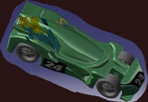 Notre voiture 2009 dessinée sous CATA V5 R18