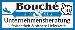 Logo Bouché Air & Sea GmbH: Unternehmensberatung Luftsicherheit & sichere Lieferkette