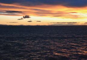 30. Januar 2015: Es ist 15.00 Uhr - Sonnenuntergang