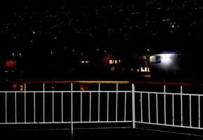 29.Januar.2015 - Schwarze Nacht, oh schwarze Nacht im Hafen ...