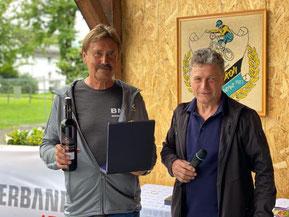 30 Jahre Mitglied beim RC Rätikon: Herbert Dür u. Günter Buda