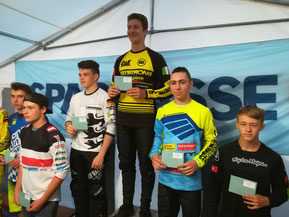 Sieger u. Platzierte Open Men 15+