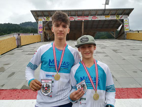 ÖM 2021: Adrian Dovjak, Luca Fercher
