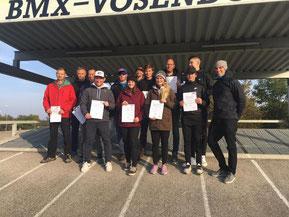 Absolventen der Trainerausbildung in Vösendorf