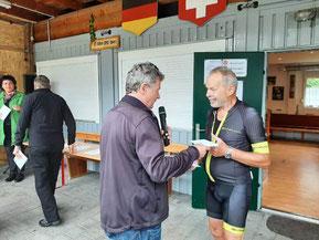 Radelte 9.007 km: Gebhard Zech