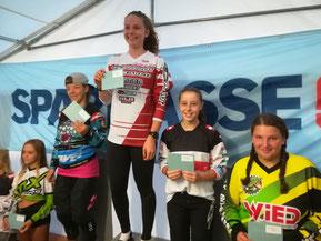 Siegerin u. Platzierte Open Women