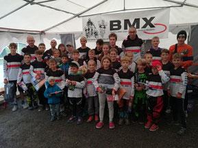 Preisverteilung BMX-Vereinscup