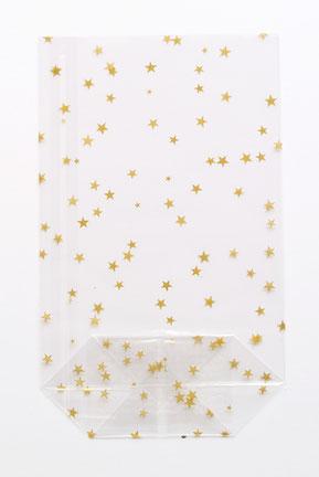 Beutel mit Sternen, Tüte mit Sternenmotiv