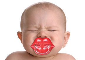 Fred and friends, Rehoboth, home, gifts, toys, lips pacifier, fred, pacifier, baby gift, baby shower, humor