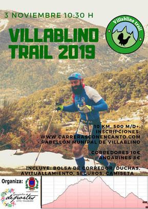 VILLABLINO TRAIL 2019 - Villablino, 03-11-2019