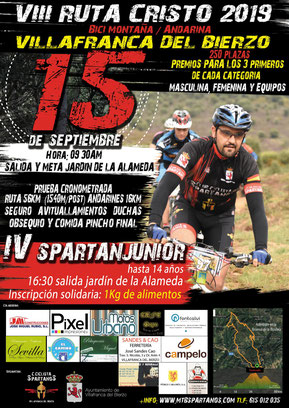 VIII RUTA CRISTO MTB VILLAFRANCA - Villafranca del Bierzo, 15-09-2019