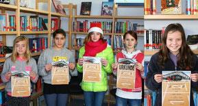 Alisha (5c), Sedef (7d), Selina (7c), Michelle (7c), Sarah (6b