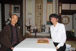 当家に来訪!白川神道研究家の宮崎先生と山口先生