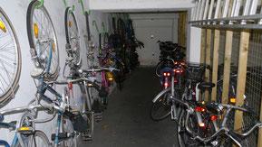 Bild: Der Fahrradkeller in der Residenz Meeresbrandung