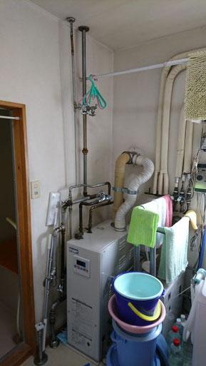 コロナ追いだき付きフロ給湯機器