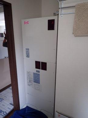 日立暖房給湯一体型ヒーターシステム