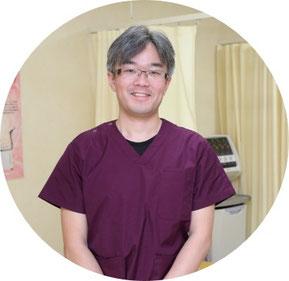 江別市野幌町にある川島治療院の院長川島直也です。鍼灸師・柔道整復師の資格を保有しております。