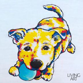 愛犬 ペット ポートレイト 似顔絵 絵画 アート おしゃれ