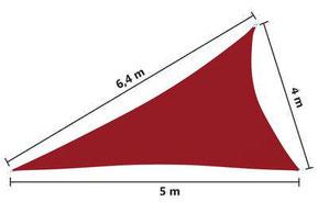 tenda #vela #ombreggiante #PES #impermeabile #triangolo #crema