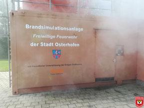 Die Brandsimulationsanlage in Osterhofen