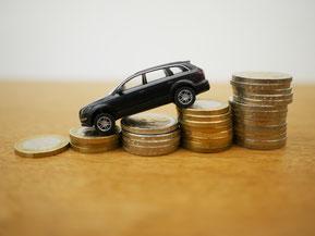 Sinnbild für Autokauf