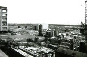 Bau der Wohngebietsgaststätte 1985