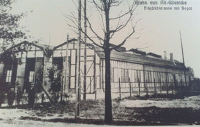 Altglienicker Straßenbahndepot um 1910 (heute Semmelweissstr. 34)