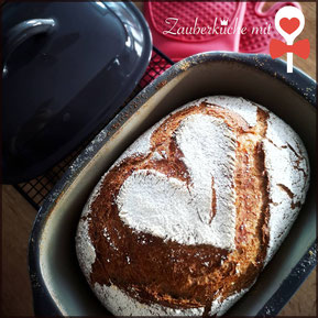 Bierbrot, Ofenmeister von Pampered Chef®, Brotrezept, Brot, Zauberküche mit Herz
