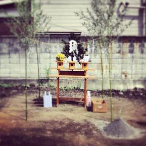 地鎮祭『梅田の住まい』