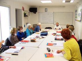 Atelier d'anglais avec Jeannine Berger