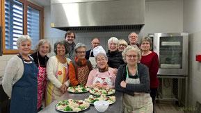 Atelier cuisine du 12 janvier 2017