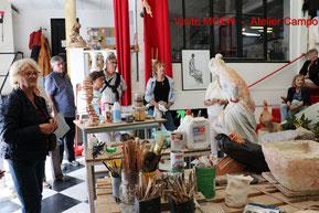 Visite de l'atelier Campo le samedi 1er octobre 16