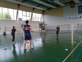 Badminton le 6-12-18