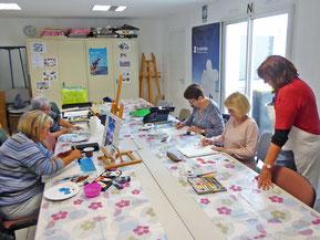 Atelier peinture artistique du 10-10-19