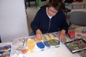 Atelier peinture artistique 14-03-2019