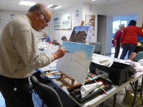Atelier peinture artistique le 21-11-2016
