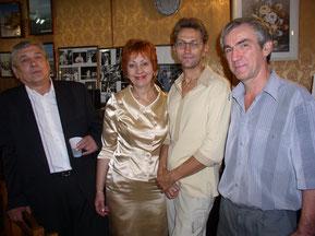 Анатолій Рекубрацький, Любов Геньба, Анатолій Сердюк, Григорій Лютий