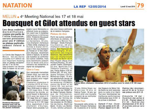 LA REP 12/05/2014 Natation