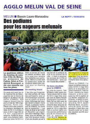 LA REP 19/05/2014 Natation