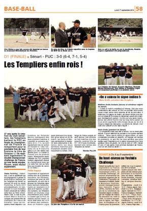LA REP 01/09/2014 : BASEBALL