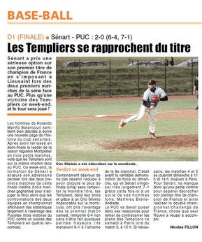 LA REP 25/08/2014 : Baseball