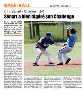 LA REP 19/05/2014 Baseball