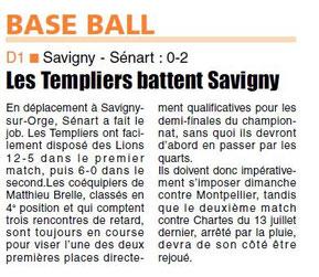 LA REP 21/07/2014 Baseball