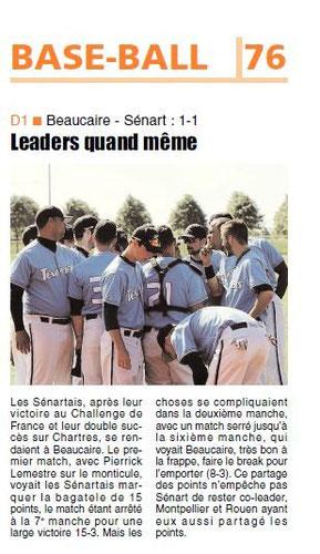 LA REP 26/05/2014  Baseball