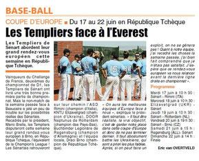 LA REP 16/06/2014 Baseball