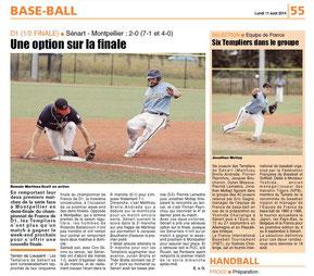 LA REP 11/08/2014 : Baseball