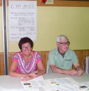 Marie-Claude Portier et Patrick Foray au forum 2018